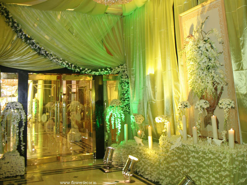 lobby  and Entrance Flower Decor